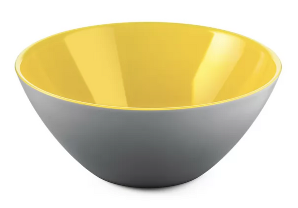 Small Grey/Yellow Fusion Bowl