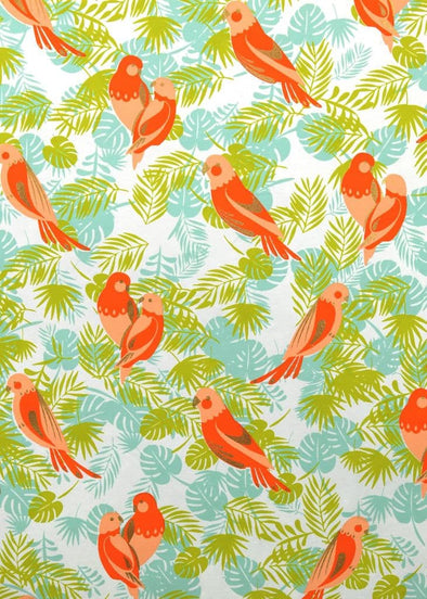 Parrots Wrapping Paper