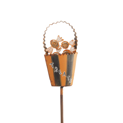 Trick or Treat Basket Finial