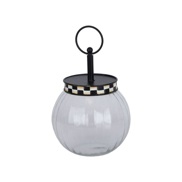Black & White Bubble Jar