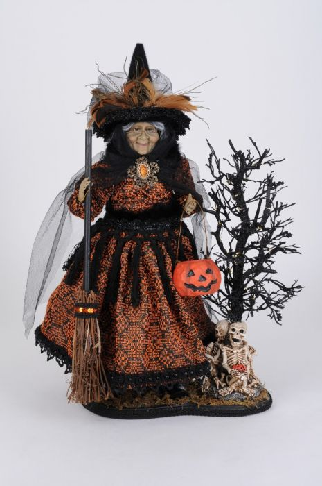Lighted Haunted Trail Witch