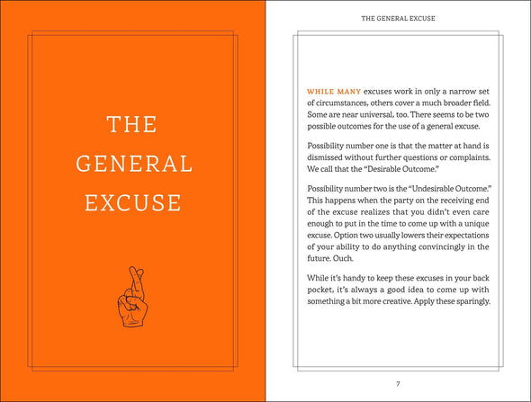The Ultimate Excuses Handbook by Lou Harry
