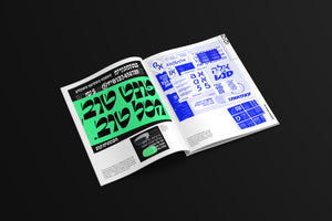 TYPEONE Magazine — Issue 01 Campaign