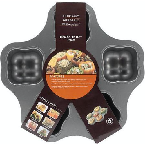 Chicago Metallic - Professional 6-Cup Non-Stick 'Stuff It Up' Pan