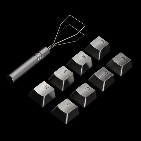 Stainless Steel Metal Keycap Set - TheKeyCaps