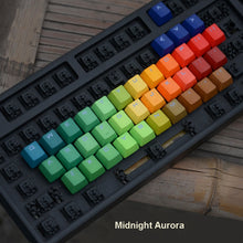 Load image into Gallery viewer, Heavy Dyed Rainbow Keycap Set - TheKeyCaps - KeyCap