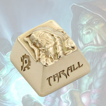 Load image into Gallery viewer, WOW Thrall Keycap - TheKeyCaps - KeyCap
