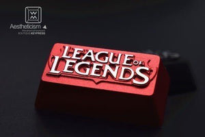 League Of Legends Backspace Keycap - TheKeyCaps - KeyCap