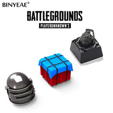 Load image into Gallery viewer, PUBG theme metal keycap - TheKeyCaps - KeyCap