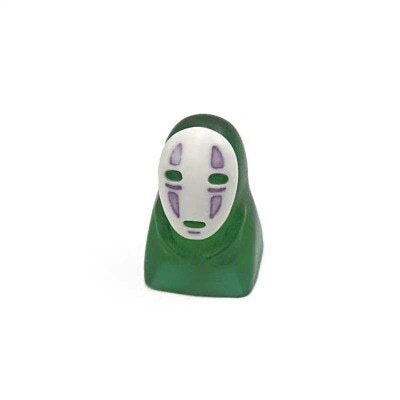 Spirited Away Colorful No Face Man Resin Keycaps - TheKeyCaps - KeyCap