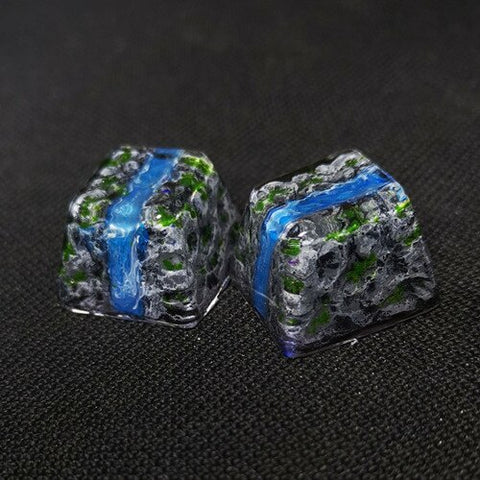 Mountain Stream Keycap - TheKeyCaps