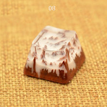 Load image into Gallery viewer, Landscape Resin Keycap - TheKeyCaps