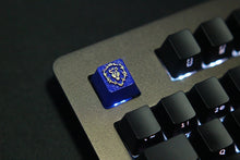 Load image into Gallery viewer, Blue Tiger Keycap - TheKeyCaps - KeyCap