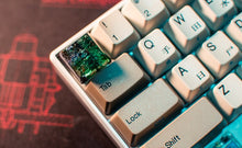 Load image into Gallery viewer, Green Toxic Waste Transparent Keycap - TheKeyCaps - KeyCap