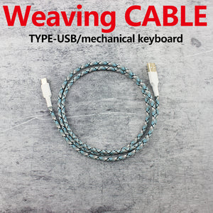 Weaving Cable Wire - TheKeyCaps - KeyCap