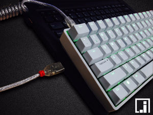 Coil cable LINDY Cable wire - TheKeyCaps