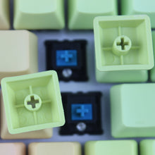 Load image into Gallery viewer, Rainbow Color OEM Profile  Keycaps - TheKeyCaps - KeyCap