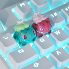 Load image into Gallery viewer, Bulbasaur Resin Keycap - TheKeyCaps - KeyCap