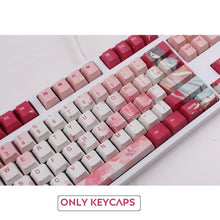 Load image into Gallery viewer, Peach Girl Keycap Set - TheKeyCaps - KeyCap