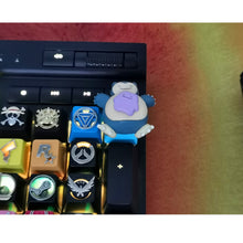 Load image into Gallery viewer, Snorlax Keycap - TheKeyCaps - KeyCap
