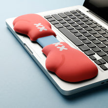 Load image into Gallery viewer, Red Boxing Glove Design Hand Wrist Rest Pad - TheKeyCaps - KeyCap