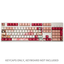Load image into Gallery viewer, Cherry Blossom Girl Keycap Set - TheKeyCaps - KeyCap