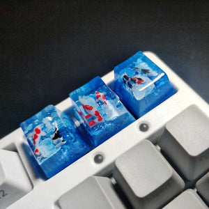 For Cherry Mx Switch Mechanical Keyboard Backlight Spacebar ESC Shift Backspace 1u 2.75u 2.25u 6.25u Keycaps Whale Resin Keycaps - TheKeyCaps - KeyCap