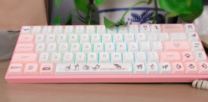 Kitty Cat Keycap Set - TheKeyCaps - KeyCap
