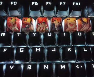 Cartoon Girls Keycap sets - TheKeyCaps - KeyCap