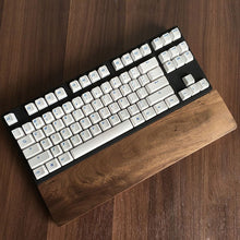 Load image into Gallery viewer, Black Walnut Wood Rest Keyboard Wrist Rest Pad Natural Wooden - TheKeyCaps - KeyCap