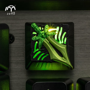 Dota 2 Heart of Tarrasque Warcraft Keycap - TheKeyCaps - KeyCap