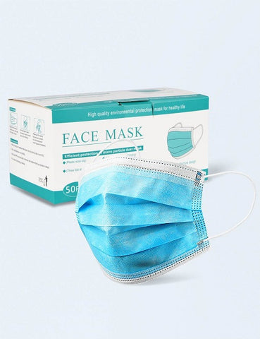 Disposable Protection Masks - 3 Ply