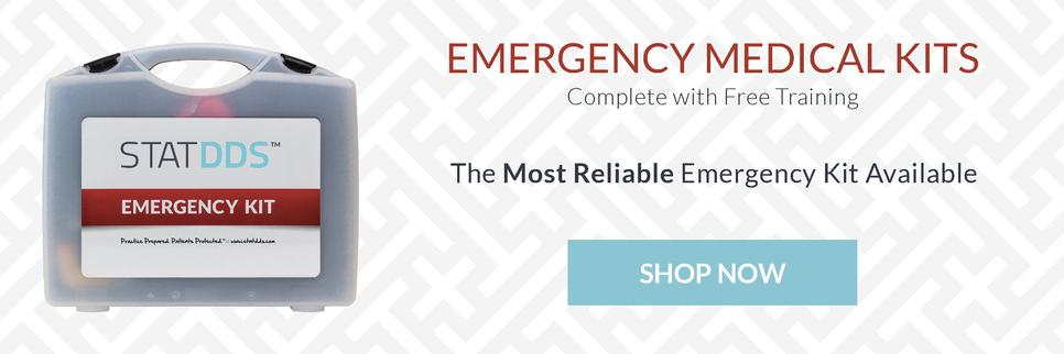 STATDDS Elite Medical Emergency Kit