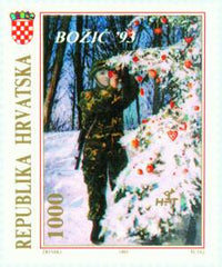 #179-180 Croatia - Christmas (MNH)