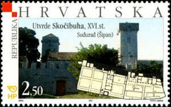 #525-527 Croatia - Fortresses Type of 2001 (MNH)