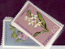 #1066-1077 Poland - Flowers in Natural Colors (MNH)
