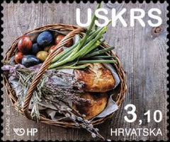 #1031 Croatia - 2017 Easter (MNH)