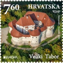 #1036-1037 Croatia - 2017 Europa: Castles, Set of 2 (MNH)