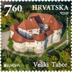 Croatia - 2017 Europa: Castles, Set of 2 (MNH)