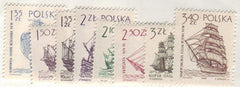#1206-1213 Poland - Ship Type of 1963 (MNH)
