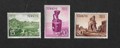 #1222-1224 Turkey - Excavations at Troy (MNH)