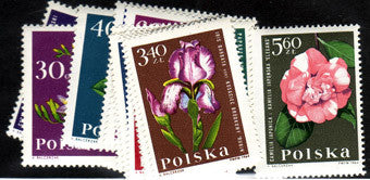 #1279-1290 Poland - Flowers (MNH)