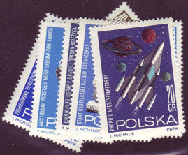 #1291-1297 Poland - Space Research (MNH)