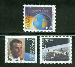 #142-144 Kazakhstan - Space Day (MNH)