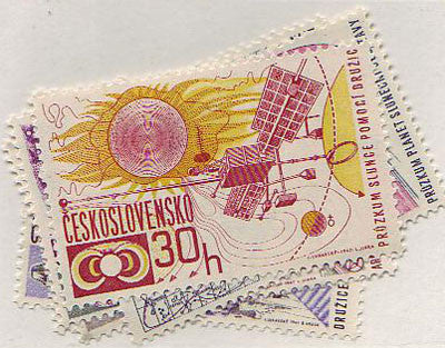 #1454-1459 Czechoslovakia - Space Research (MNH)