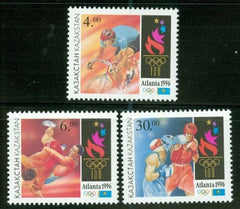 #146-148 Kazakhstan - Summer Olympic Games - Atlanta (MNH)