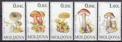 #153-157 Moldova - Mushrooms (MNH)