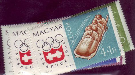 #1548-1554 Hungary - 9th Winter Olympic Games, Set of 8 (MNH)
