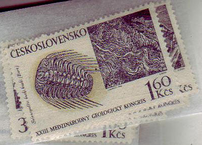#1559-1563 Czechoslovakia - Int'l Geological Congress (MNH)
