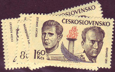 #1868-1873 Czechoslovakia - Freeedom Fighters (MNH)